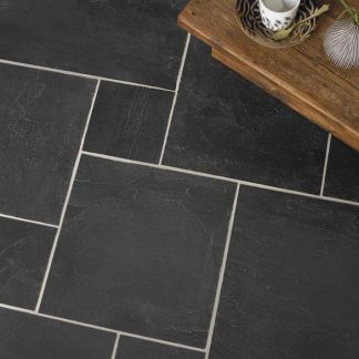 Black Brazilian Slate Small Opus Cleft