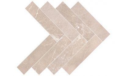 Creme Almeira herringbone-tile