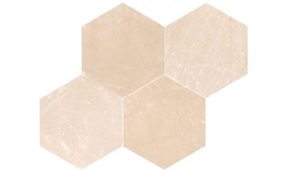 Creme Almeira hexagon-tile