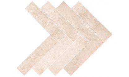 Marmo Cotto herringbon-tile