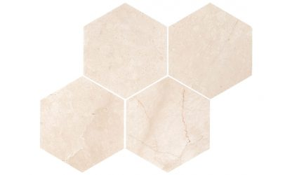 Marmo Cotto Marble hexagon-tile
