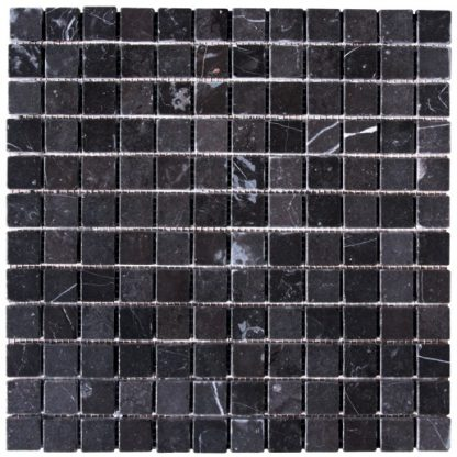 Nero Marble Tumbled Mosaic Tiles