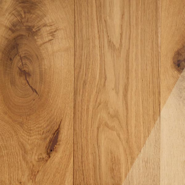 14mm Oak Brushed Unfinished ABCD