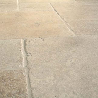 Travertine Tumbled Opus Pattern