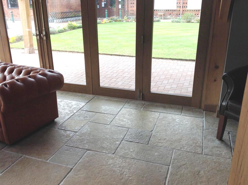 Umbria Flagstone Large pattern