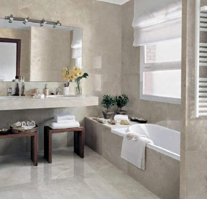 Aegean Pearl Polished Marble Tiles