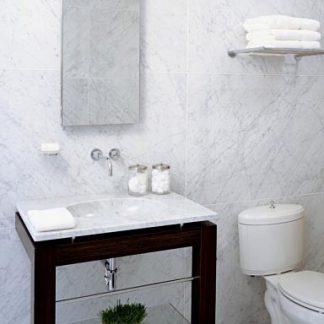 Carrara C bathroom