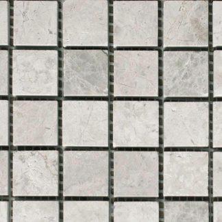 Silver Grey Polished Mosaic Tiles