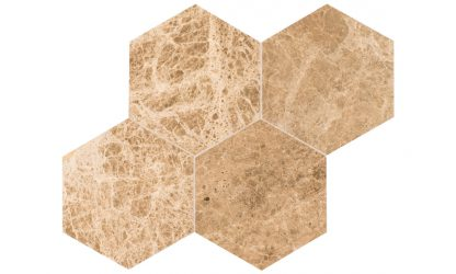 emperador-light-hexagon-tile