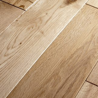 Lacquered Oak 125mm wide 18mm