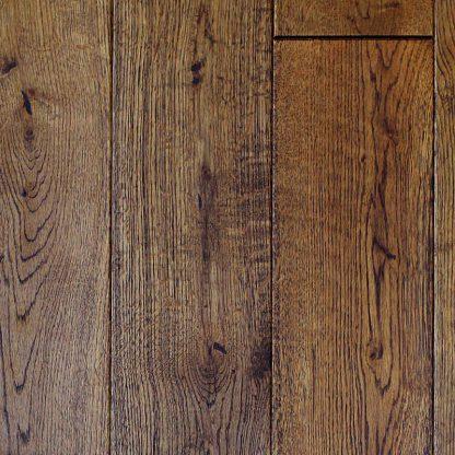 Brushed Ebony Wax Oiled Oak 130mm wide 18mm