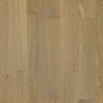3 Strip Clic London White Lacquered Oak 195mm wide 14mm