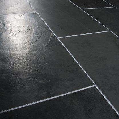 Black Brazilian Slate Large Opus Cleft