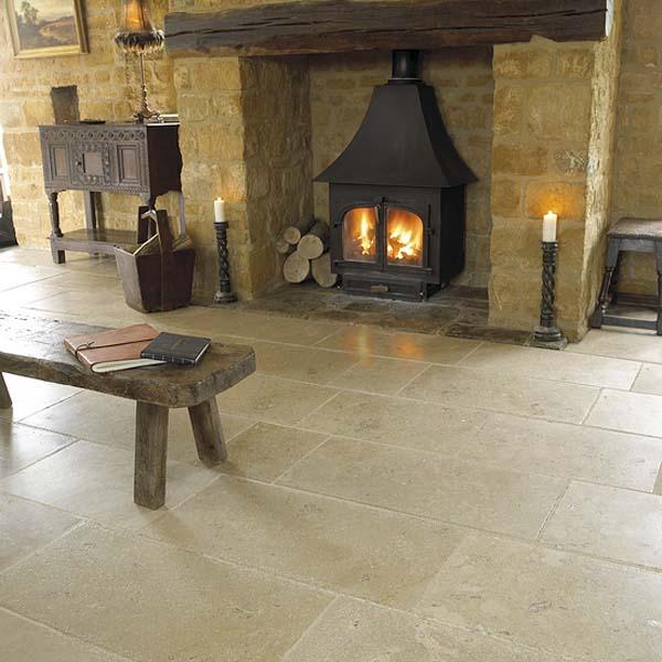 Chatillon Limestone Tumbled