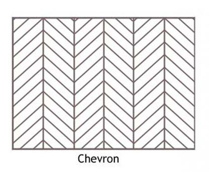Chevron Layout