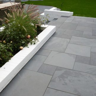 Grey Brazilian Slate Large Opus Cleft
