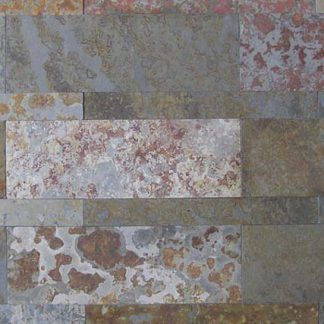 Multicolour Brazilian Slate Strips