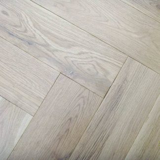 Herringbone Unfinished Engineered Oak Parquet Blocks 610 x 122 x 15mm