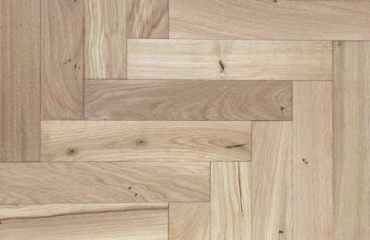 Rustic Unfinished Oak 500 x 100 x 20/6mm
