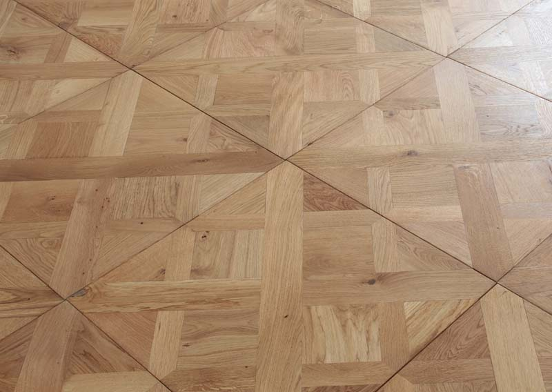 Basket Weave Natural Oiled 580 x 580 20mm