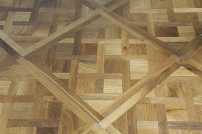 Versailles Smoked Oiled 580 x 580 x 20mm