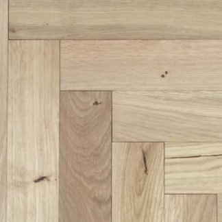 Rustic Unfinished Oak Parquet