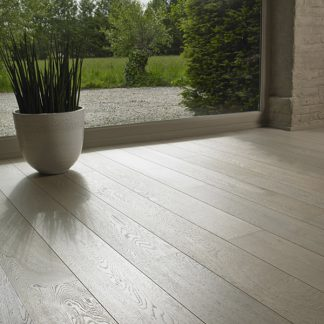White Matt Oak 189mm wide 15mm