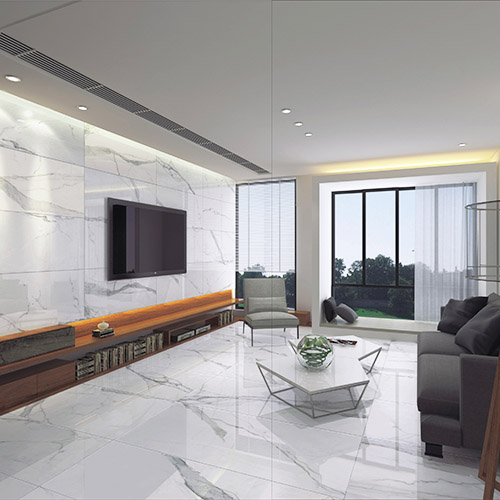 Calacatta Porcelain 1200 x 600 - London Floors Direct