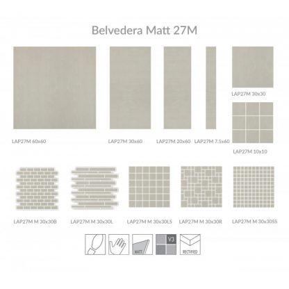 Belvedera Matt Porcelain London Floors Direct