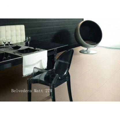 Belvedera Matt Porcelain 60 x 60 London Floors Direct