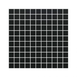 Super Black Matt Porcelain Mosaic Tiles 30 x 30 London Floors Direct