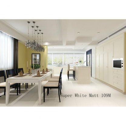 Super White Matt Porcelain London Floors Direct