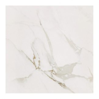 Statuario Polished Porcelain 60 x 60 London Floors Direct