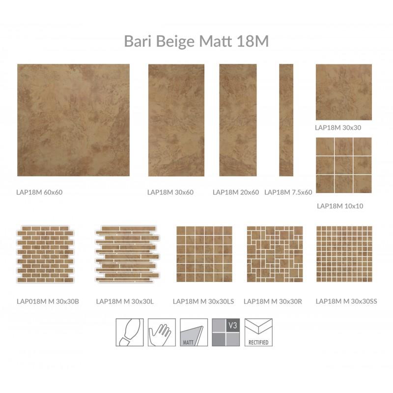 Travertine beige matt card london floors direct for Klebefolie beige matt