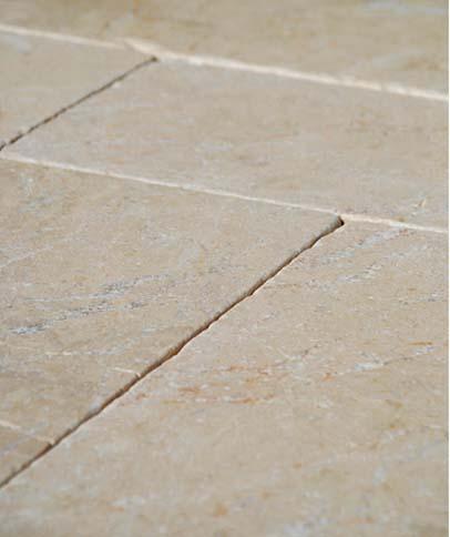 Montpellier Tumbled Stone floor