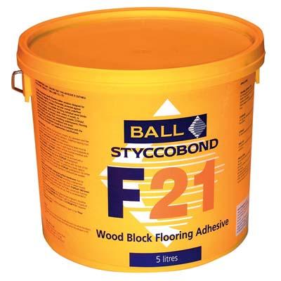 Styccobond F21 Woodblock Adhesive 15kg
