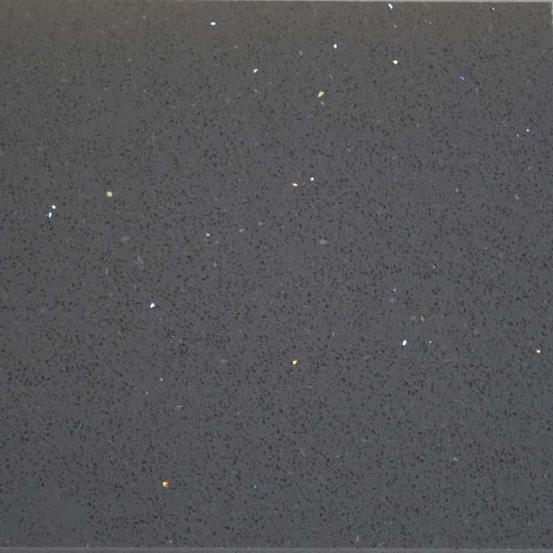 Dark Grey Galaxy Quartzstone Polished - London Floors Direct