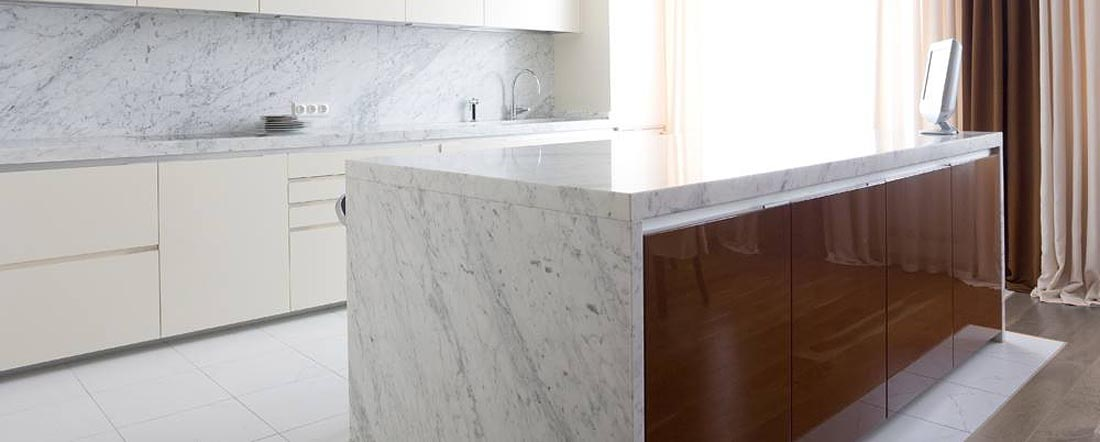 Carrara Kitchen Worktop