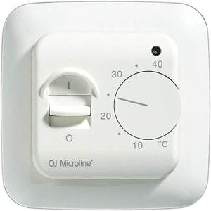 16amp thermostat with manual on/off