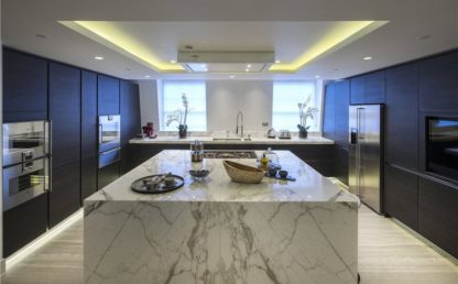Marble Kitchen work surface