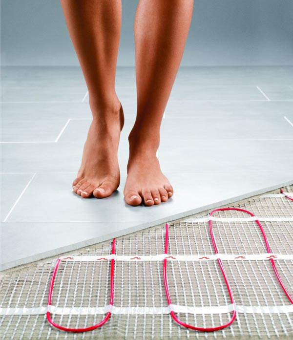 Electric underfloor-heating London Floors Direct