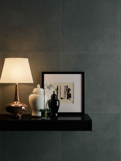 City Black Porcelain 60 x 60 and 60 x 30 London Floors Direct