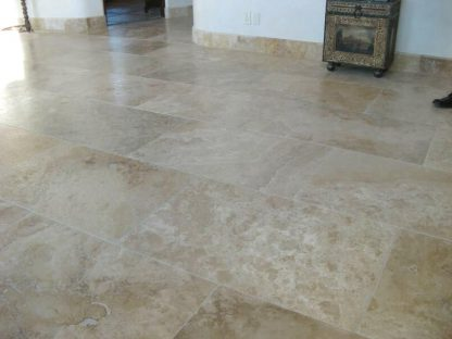 Medium Travertine Honed and Filled
