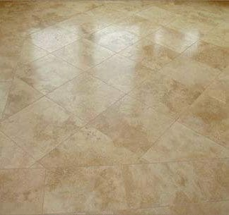 Medium Travertine Honed and Filled Tiles