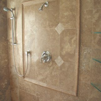 Noce Travertine Honed and Filled