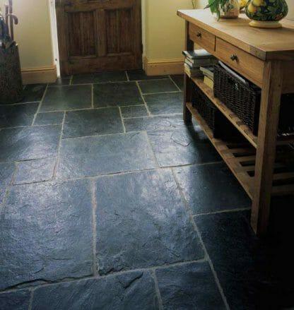 Black Flagstone Slate