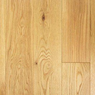 Brushed matt lacquered oak