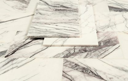 Calacatta Violet-polsihed-marble-tiles