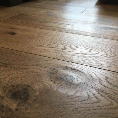 Oak Brushed, Handscraped & Oiled