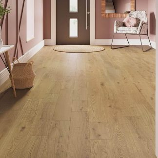 Solid Nature Oak Flooring 18mm x 150mm Natural Lacquered